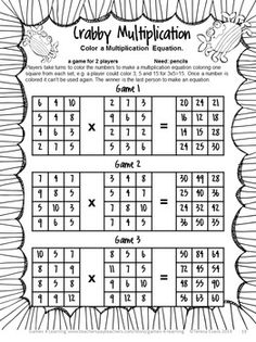 END OF YEAR Math Games Third Grade by Games 4 Learning - a No Prep game for end of year! $
