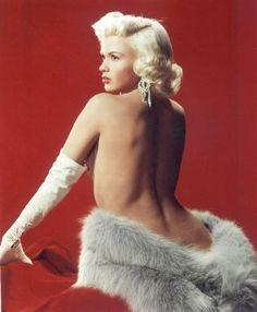 Classic beauty icon, Jayne Mansfield.