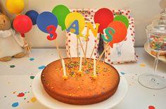 anniversaire ballons / gateau anniversaire  / birthday party #kidbirthday #balloon #anniversaire #enfant