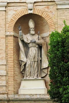 Fermo, Marche, Italy - Saint Savino, patron of the city - by Gianni Del Bufalo