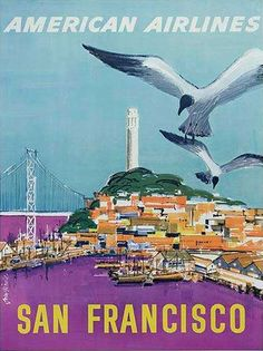 Community Post: 24 Beautiful Vintage San Francisco Travel Posters