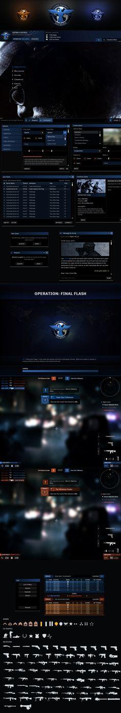 Sierra Foxtrot FPS GUI by VengeanceMK1.deviantart.com on @DeviantArt