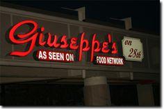 Welcome to Giuseppe's On 28th Street in Phoenix, Arizona - Phoenix's favorite local Italian kitchen!