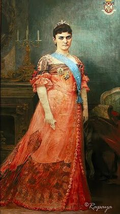 Queen Draga Obrenovic of Serbia