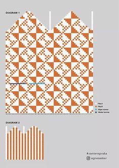 Mittens Spraka - Share Your Mittens! Mittens Pattern, Knit Mittens, Knitted Gloves, Knitting Socks, Knitting Charts, Knitting Stitches, Knitting Patterns, Crochet Designs, Knitting Designs