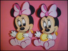 moldes de minnie mouse en foami para imprimir - Buscar con Google Mini Mouse Baby Shower, Baby Mouse, Minnie Mouse Party, Khloe Baby, Daisy Duck Party, Baby Shawer, Girl First Birthday, First Birthdays, Julia Sanchez