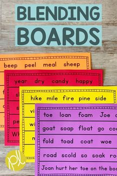 Use blending boards with the whole group, small group, or send home for extra fluency practice. 200 phonics pages provides practice for every day of the school year! Reading Intervention Classroom, Response To Intervention, Reading Skills, Guided Reading, Teaching Reading, Co Teaching, Teaching Ideas, Phonics Blends, Phonemic Awareness Activities