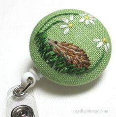 What's a Scissor Pull? - Posts tagged 'embroidery tips and tricks' Types Of Embroidery, Embroidery Needles, Silk Ribbon Embroidery, Embroidery Art, Embroidery Designs, Hedgehog Cross Stitch, Cross Stitch Animals, Cross Stitch Finishing, Sewing Accessories