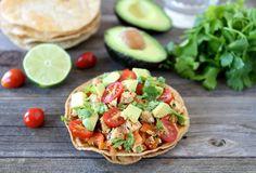 Vegan Weekly Meal Plan // Tofu Tostadas