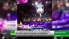 EE.UU.: Ocho acróbatas resultan heridas tras accidente en un circo en Rh...