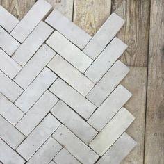 Glazed White Bijmat Tile | Bert & May