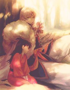 Rin and Sesshomaru - I heard that when Rin got older, she and Sesshomaru fell in love.
