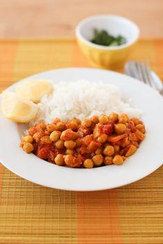 chana masala rapide - clémentine cuisine
