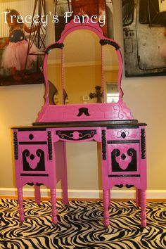 Vintage Vanity/Dressing Table  MADE TO ORDER by TraceysFancy, $850.00