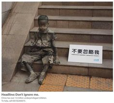 Street art can be a beautiful and poignant way to raise awareness of important issues ..