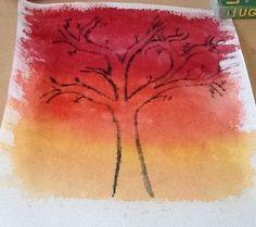 A hot tree