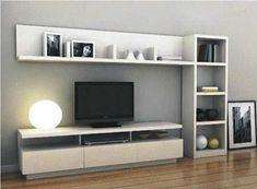 17 veces he visto estas agraciadas muebles minimalistas. Tv Unit Furniture, Furniture Design, Modular Furniture, Home Living Room, Living Room Decor, Living Room Tv Unit Designs, Tv Wall Decor, Tv Unit Decor, Muebles Living