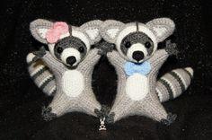 raccoon toy crochet amigurumi pattern