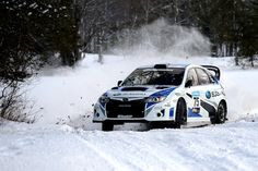 Subaru Rally Team USA will start their defense of last years Rally America title at the 2013 Sno*Drift Rally! The team's new skin looks great in the snow!