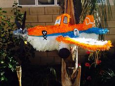 Disney Planes Dusty Crophopper hand made custom Piñata Disney Planes Birthday Party by angela's pinata's