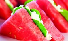 watermelon sandwich