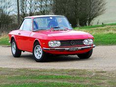 Lancia Fulvia 1600 HF. Brilliant in it's simplicity!