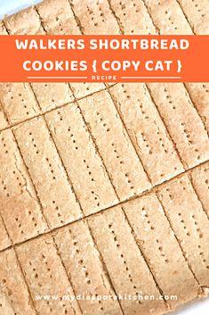 Homemade Walkers Shortbread Cookies - My Diaspora Kitchen