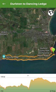 A 5.5 mile circular walk to Dancing Ledge from Durlston Country Park in Swanage – a stunning coastal walk on the Isle of Purbeck in Dorset! #swanage #dorset #england Walking, Walk This Way, Dance, Nature Reserve, Coastal, England, Park, Country, Dancing