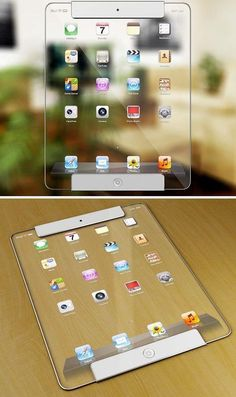 Is This Transparent iPad in Your Future? Apple Technician is the best Madrid Apple Mac repair centre providing apple technical support, Mac Pro Solutions, iPhone, iPad Repairs and Data Recovery services. Mac Pro, Apple Mac, Gadgets Techniques, Whatsapp Tricks, Tech Magazines, Smartphone, Accessoires Iphone, Futuristic Technology, Technology Design