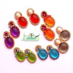 Swarovski Post Earrings by DILETTANTEsoutache
