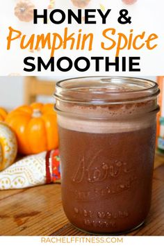 Get ready for fall with this delicious Honey Pumpkin Spice Shakeology recipe! If you love Pumpkin Spice Lattes but don't want all the calories and fat you'll love this healthy smoothie as an alternative. Healthy Snacks For Kids, Healthy Breakfast Recipes, Healthy Breakfasts, Healthy Desserts, Vegetarian Recipes, Healthy Recipes, Protein Shake Recipes, Smoothie Recipes, Drink Recipes