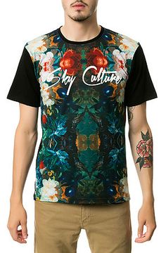 Sky Culture Tropical Forest Tee   Men style