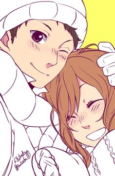 Natsume and Sasayan My Little Monster by Whitedove Hemlock. Love them so much. LOOK AT MY OTP.