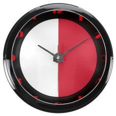 Maltese flag Clock Aquarium Clock