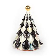 Courtly Check Tannenbaum Candy Jar
