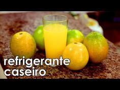 Como fazer um delicioso refrigerante natural caseiro de laranja