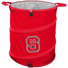 North Carolina State Wolfpack Collapsible Trash Can