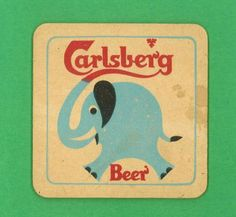 Carlsberg Beer Coaster lisa 5.m