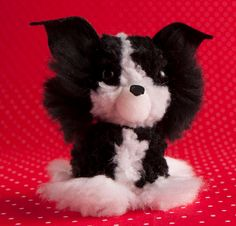 Dog Crafts, Crafts For Kids, Pom Pom Puppies, Pom Pom Crafts, Puppy Party, Felt Toys, Diy Projects To Try, Softies, Lana