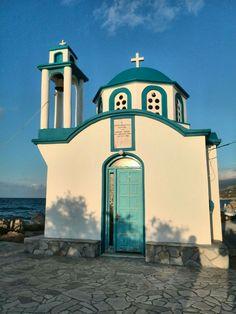 Gialiskari Church at Armenistiris - Ikaria island, Greece