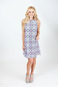 Spring has sprung and we are ready to prep your Spring wardrobe with this adorable new tunic of ours! Make it a dress or a tunic with leggings, So many ways to style this!