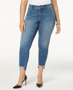 430d9c56332 Hot Sale Lace Up Side Pocket High Waist Denim Pants