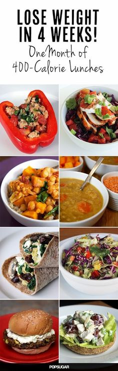 Lose Weight in 4 Weeks - One Month of 400 Calorie Lunches | Medi Delite
