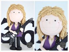 Randy Rhoads Gum Paste Cake Topper : Design @ 409
