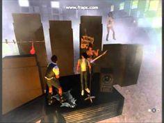 Fantastic Secondlife Sandbox Party Rock Music Clip SL Machinima 3D