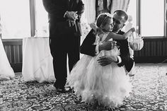 This Groom Turns To Read Vows To His Bride's Daughter And Brings Everyone To Tears