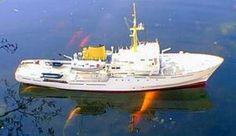 HMS Bulldog. Deans Marine Ship Kit - RC ready - Deans Marine Ship Kits