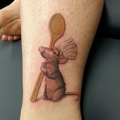 Chef idea tattoo! Love that movie it's so cute!