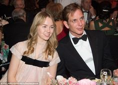 Princess Alexandra of Hanover and Andrea Casiraghi smile for a picture at the 62nd Rose Ball