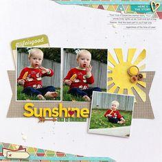 Sunshine on a Stick...Summer Layout